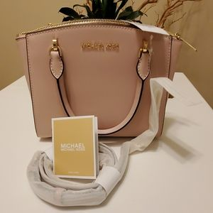 Michael Kors Small Ellis Leather Satchel